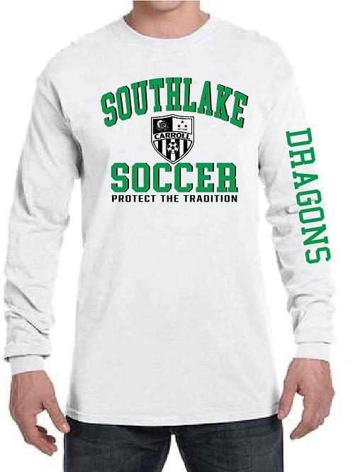 Comfort Colors Southlake Soccer Long Sleeve Shirt