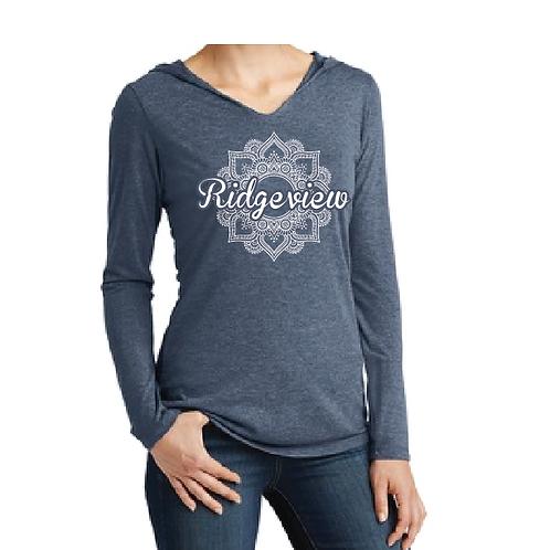 Ridgeview Mandala Hoodie - Navy Frost