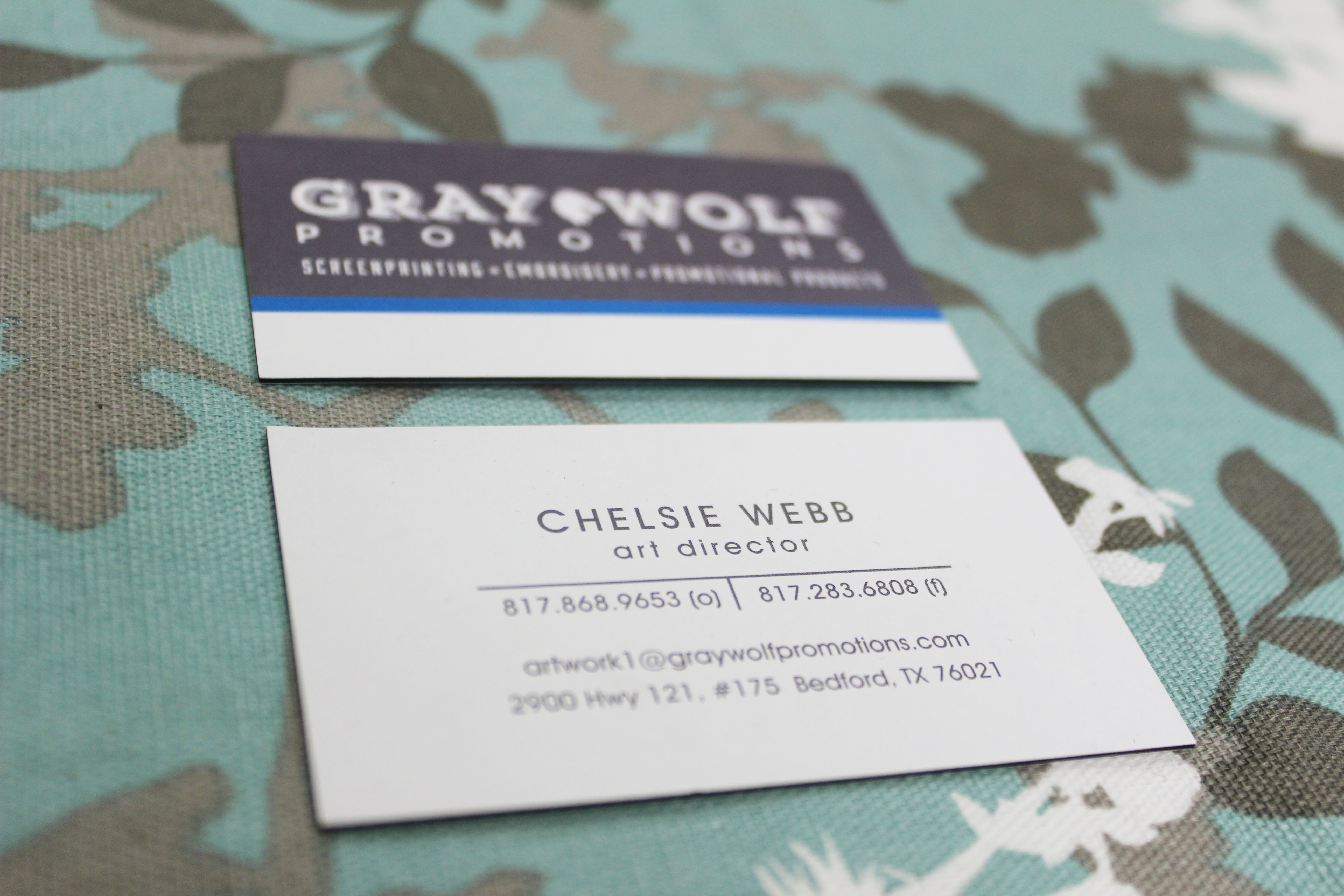Luxe Triple Layer Business Cards