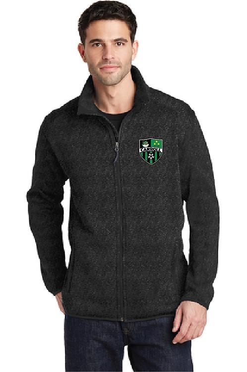 Port Authority® Sweater Fleece Men Jacket