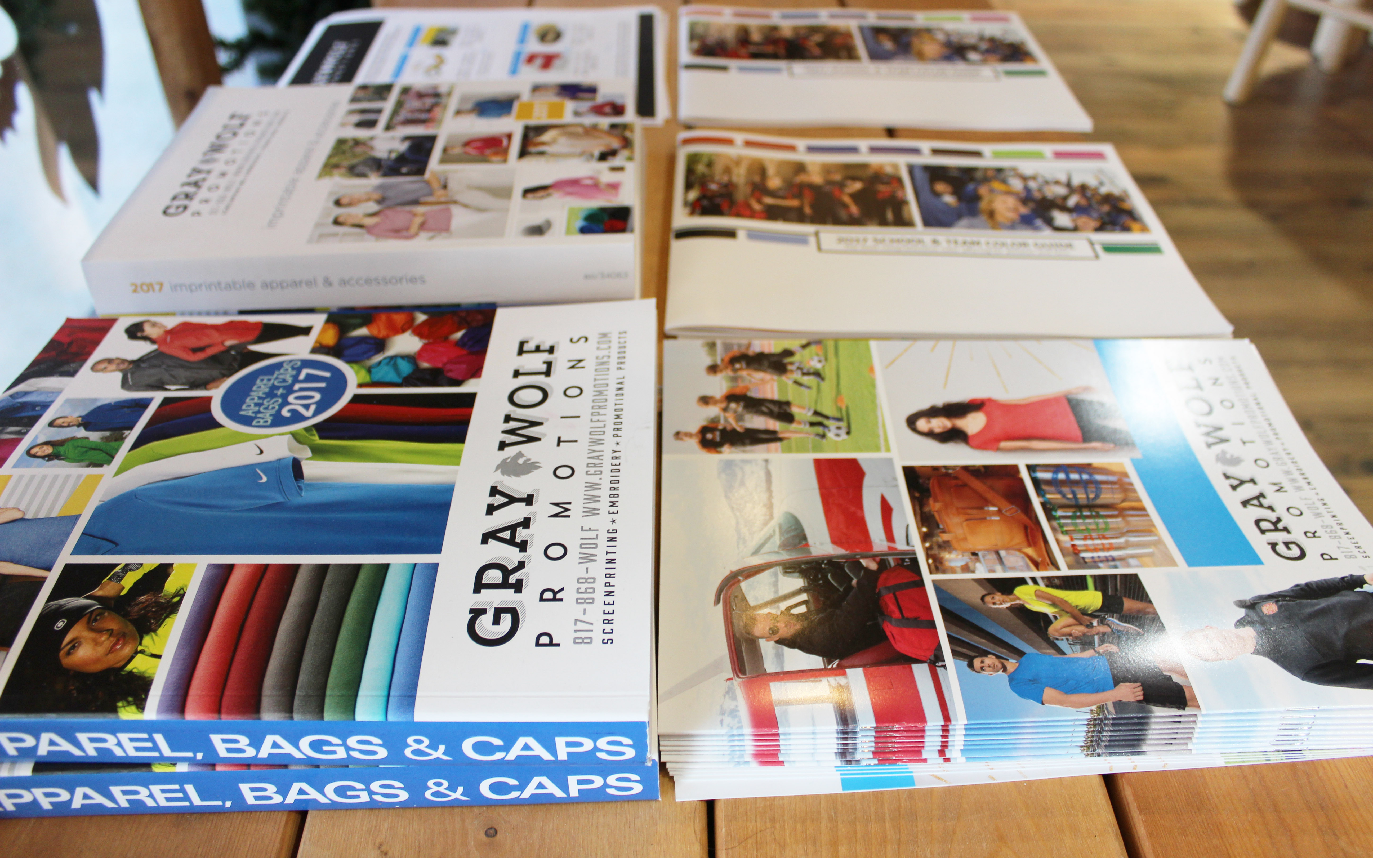 Promo Catalogs, Flyers, Cards & More