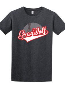 Transparent Gray Wolf Baseball