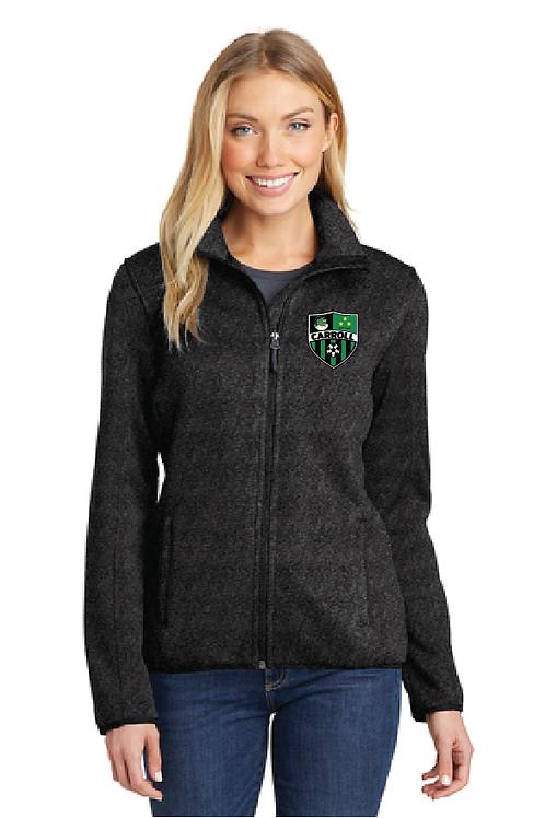 Port Authority® Sweater Fleece Women Jacket