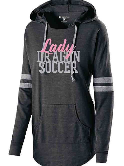 Lady Dragon Soccer Low Key Pullover Hoodie