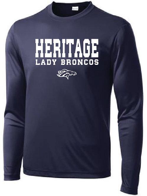Lady Broncos Long Sleeve