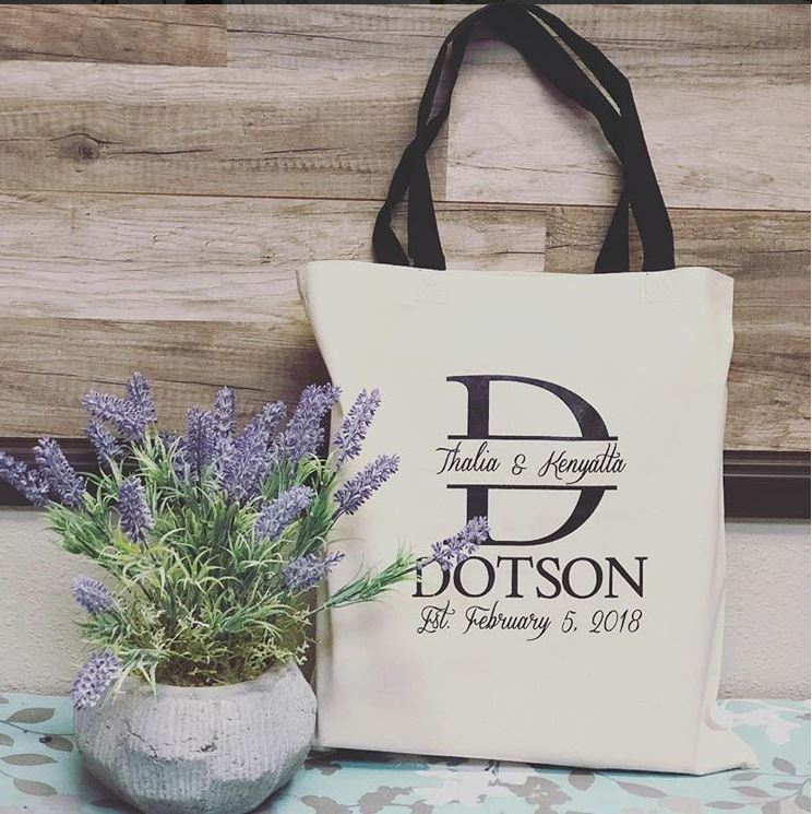 Dotson Wedding Tote
