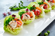 Small set of appetisers. Corporate Reception. Envie Catering