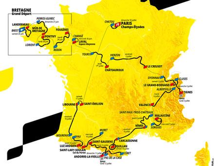Auf dem Rennradsattel in Lavendelfeldern: Die Tour de France rollt durch den Süden