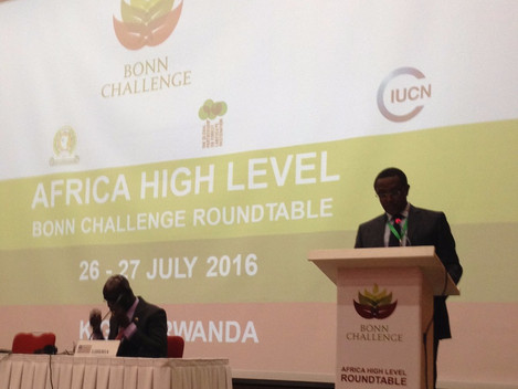 Regional Bonn Challenge High Level Meeting, Kigali, Rwanda