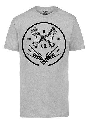 Piston Ring Mens T-shirt - Heather Grey