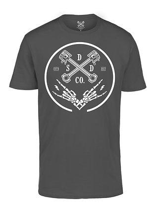 Piston Ring Mens T-shirt - Charcoal