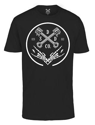 Piston Ring Mens T-shirt - Black