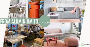 "Octagon Living - 延續Aluminium將北歐設計傢俱""落地""的精神"