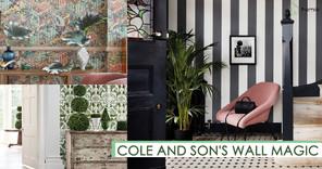 一襲牆紙 改變整個家居氛圍 Cole and Son提升家居氣質!
