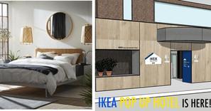 IKEA開POP UP HOTEL? 邀請您免費入住一晚!