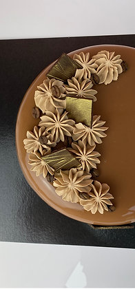Praline French Mousse-Based Dessert