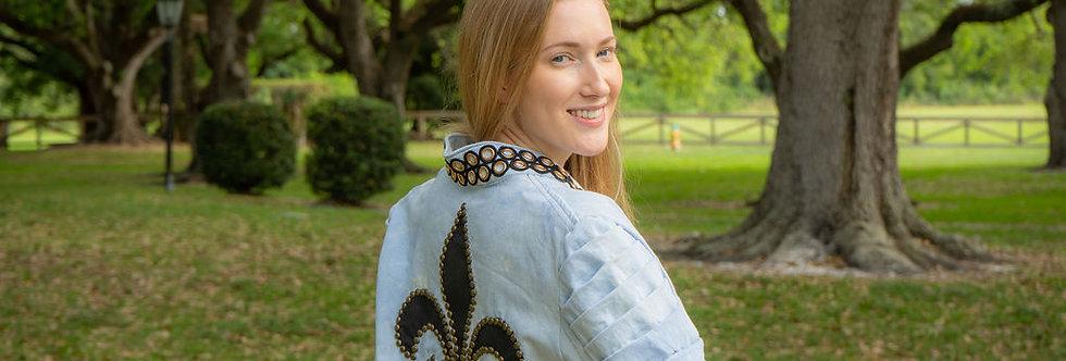 Wearable Art Denim Jacket