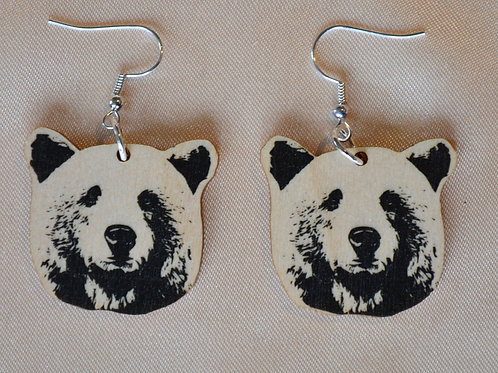Bear With Me earrings