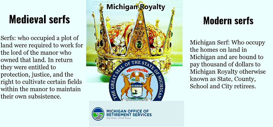 Michigan royalty serfs
