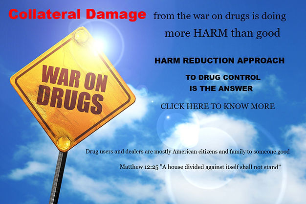 Harm reduction of drug use