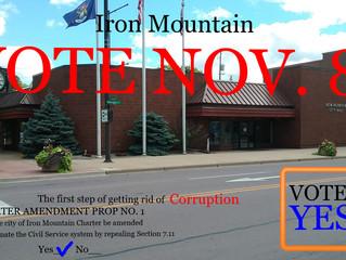 VOTE YES on PROP 1, Iron Mountain