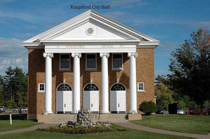 Kingsford Michigan City Hall