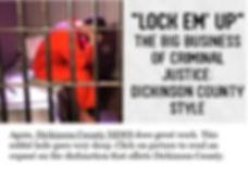 legal corruption dickinson county michigan