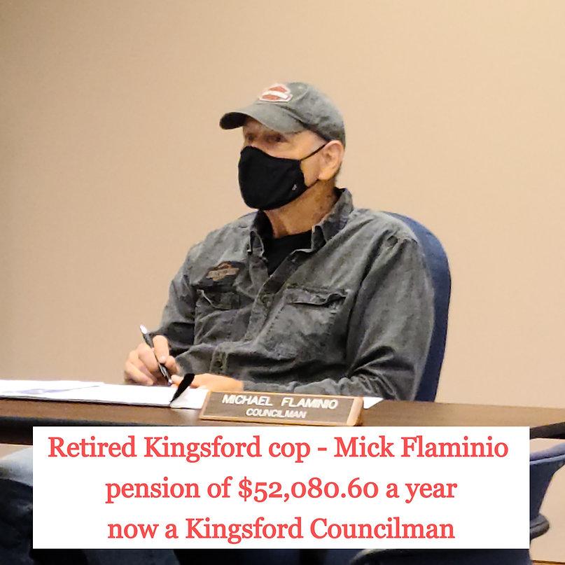 Michae Flaminio conflict of interest