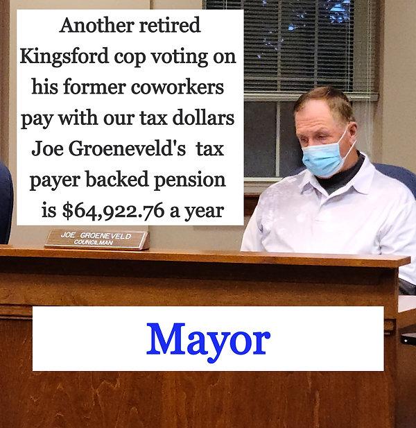 Mayor of Kingsford Michigan