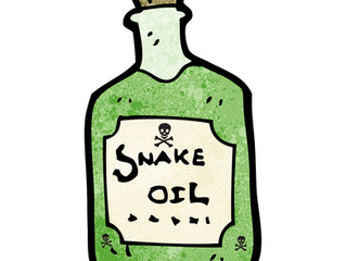 Why do people keep drinking snake oil
