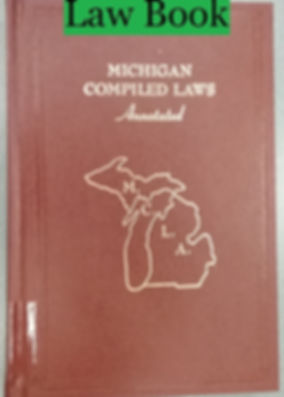 Law book Cover