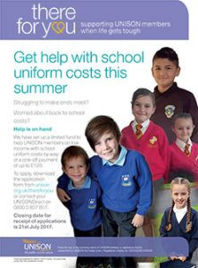 There for You School Uniform Grant 2017