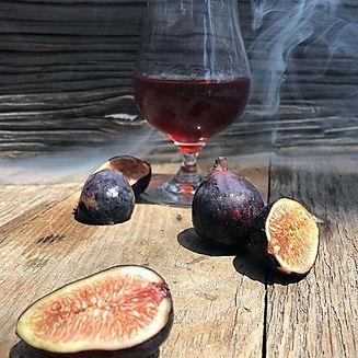 Wood grilled fig bourbon is back! #farmt