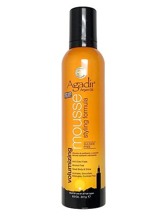 Agadir Argan Oil Volumizing Styling Mousse