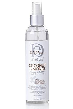 Design Essentials Coconut & Monoi Coconut Water Curl Refresher