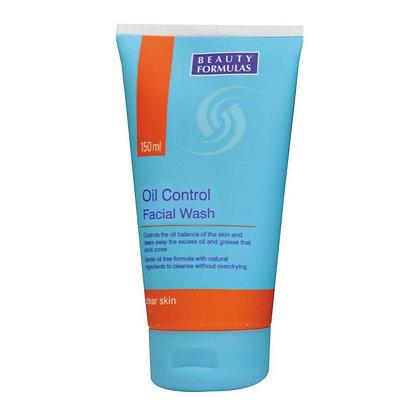 Beauty Formulas Oil Control Facial Wash