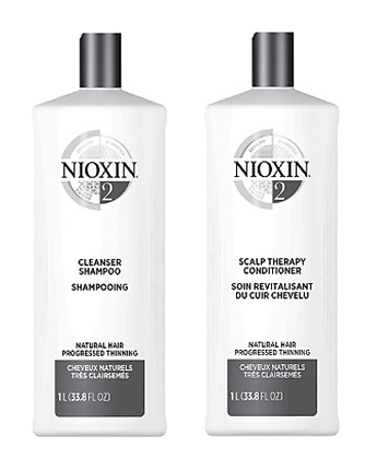 Nioxin System 2 Cleanser & Scalp Therapy Duo Set