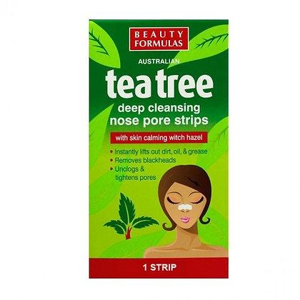 Beauty Formulas Tea Tree Nose Pore Strip (6/Pack)