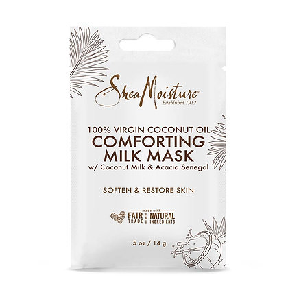 Shea Moisture 100% Virgin Coconut Oil Comforting Milk Mask (0.5 oz)