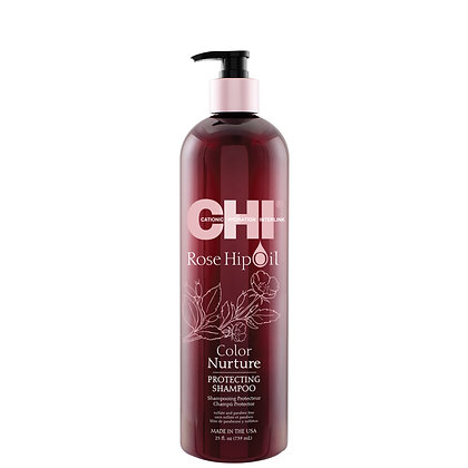 CHI Rose Hip Oil Color Nurture Protecting Shampoo