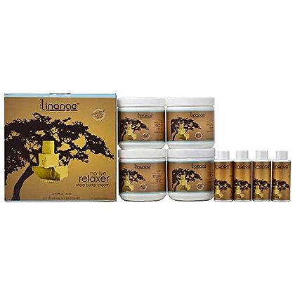 Alter Ego Linange No Lye Relaxer Shea Butter Kit (4 Pack)
