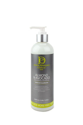 Design Essentials Natural Almond & Avocado Detangling Leave-In Conditioner