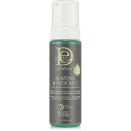 Design Essentials Natural Almond & Avocado Curl Enhancing Mousse