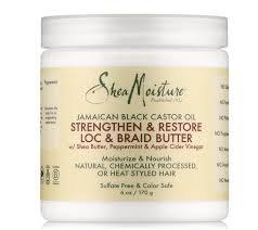 Shea Moisture Strengthen & Restore Loc & Braid Butter
