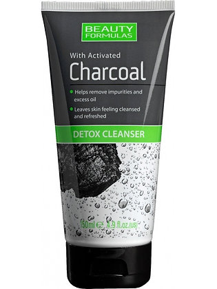 Beauty Formulas Activated Charcoal Detox Cleanser
