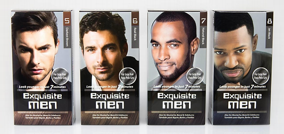 Exquisite Men for Gray Hair (Color)