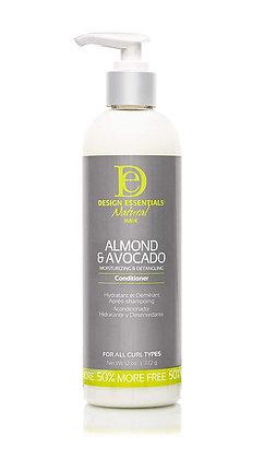 Design Essentials Natural Almond & Avocado Conditioner