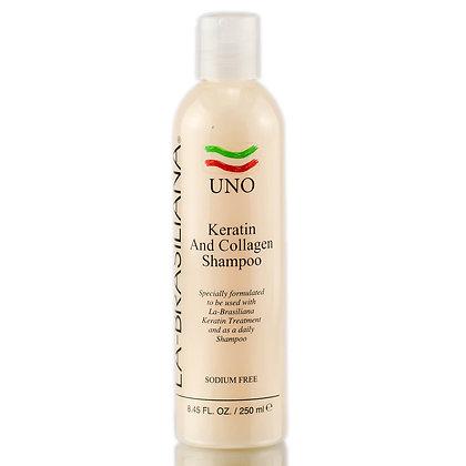 La-Brasiliana UNO Keratin and Collagen Shampoo