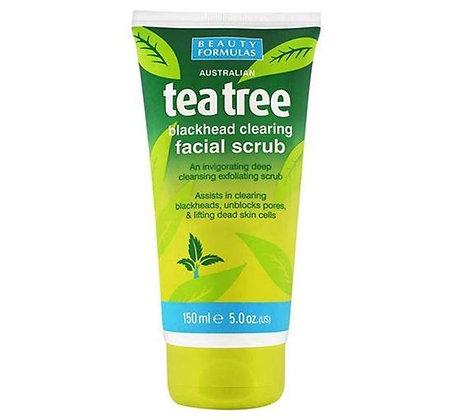 Beauty Formulas Tea Tree Facial Wash