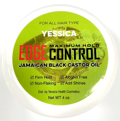Yessica Maximum Hold Edge Control w/ Jamaican Black Castor Oil